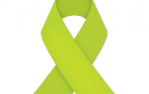 Green Ribbons are used to help raise mental health awareness.