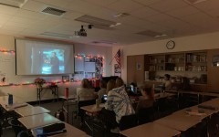 The Spartan Shield staff watches the Christmas classic, National Lampoon's Christmas Vacation, before winter break.