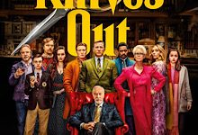 """Theatrical release poster for the amazing murder mystery movie """"Knives Out."""""""