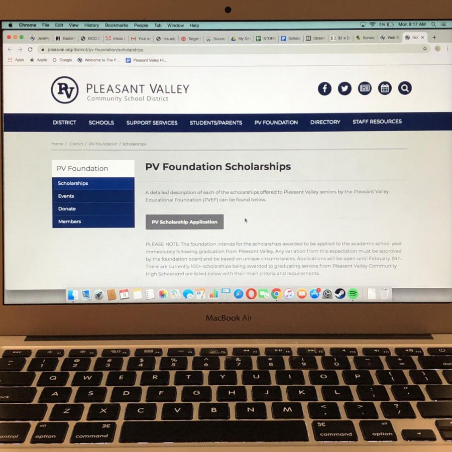 As opportunities rise for Pleasant Valley scholarship options, student application numbers drop