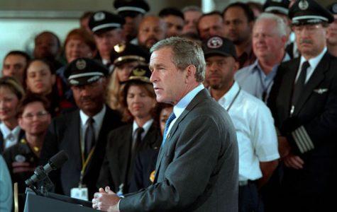 President Bush remarks on aviation security in November 2001.