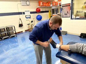 Athletic trainer recognized for impact on community