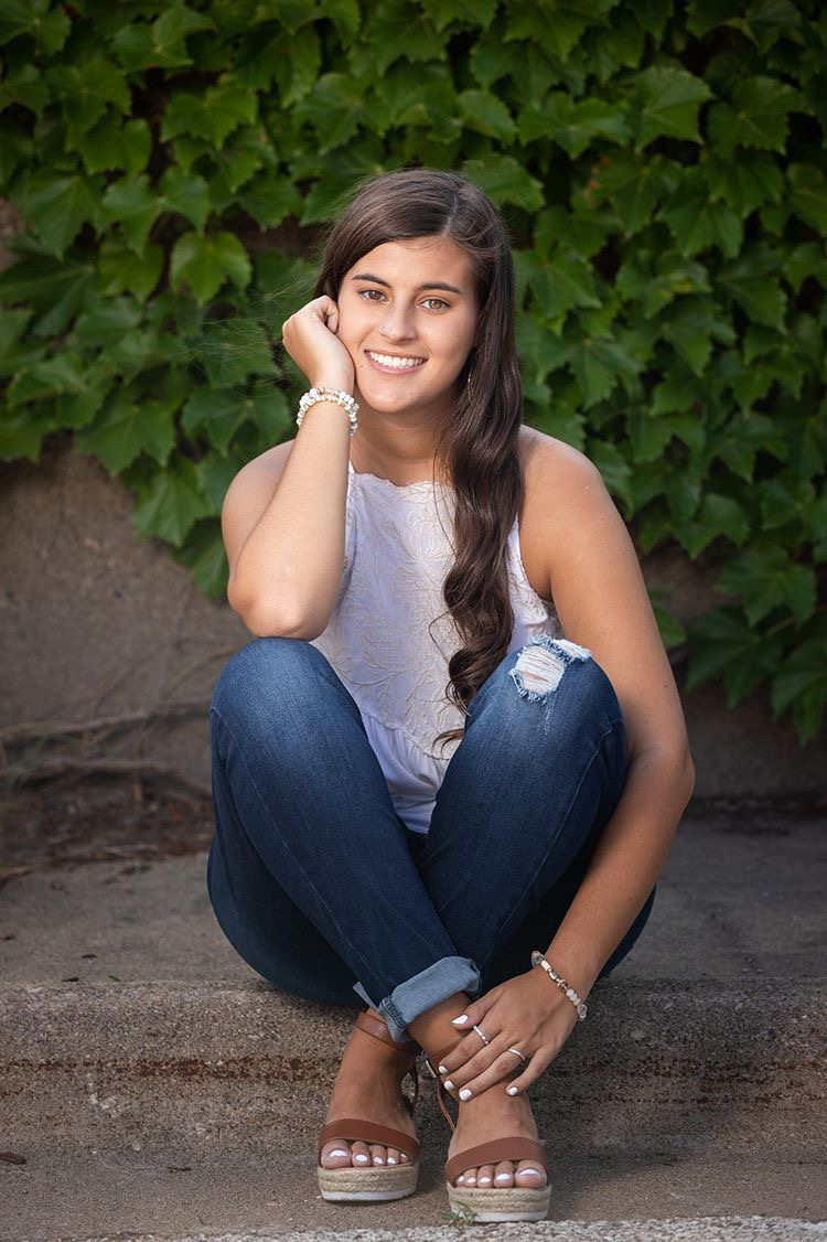 Olivia Marchiori, early graduating senior attending The University of Iowa in the Fall.