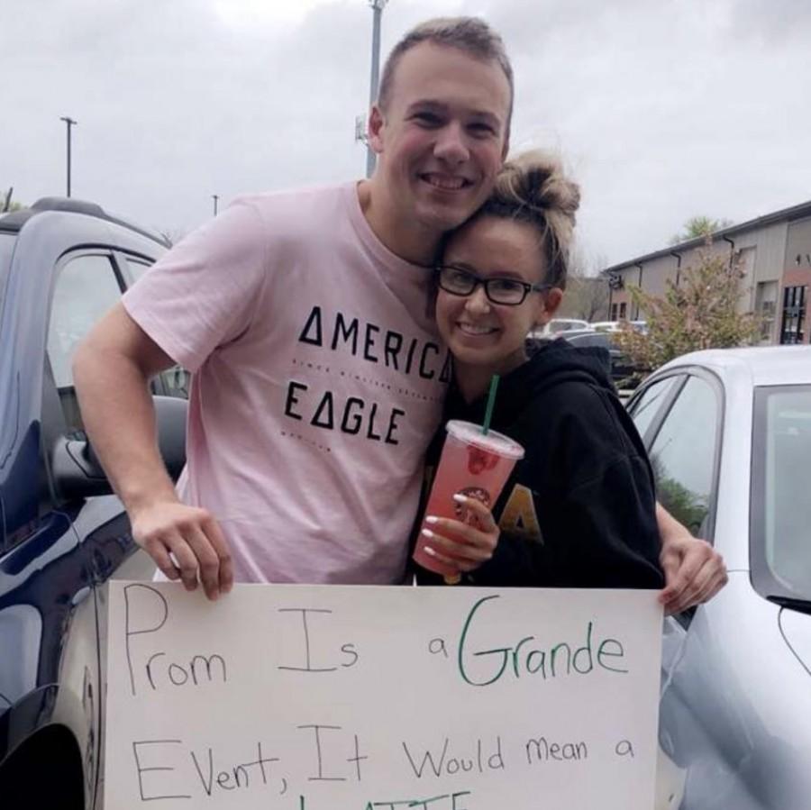 Josh Delcorso asks Emma Curtis to prom.