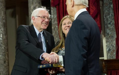 Senator Sanders, left, and former Vice President Biden, right, are the only serious contenders remaining for the Democratic nomination.
