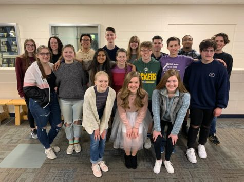 American Choral Directors Association selects PV students