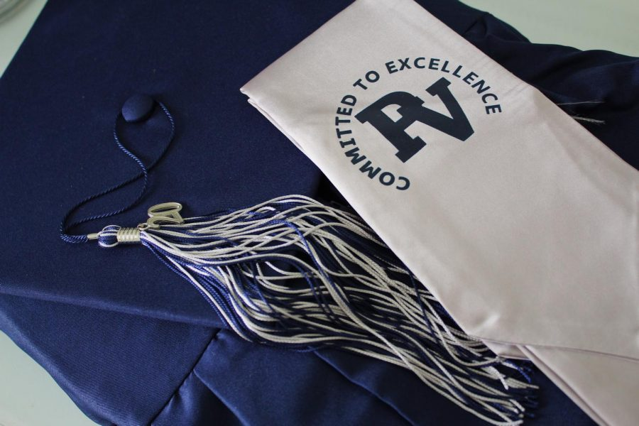 Caps and gowns of many seniors were delivered last week, but when they will be worn is still in question.