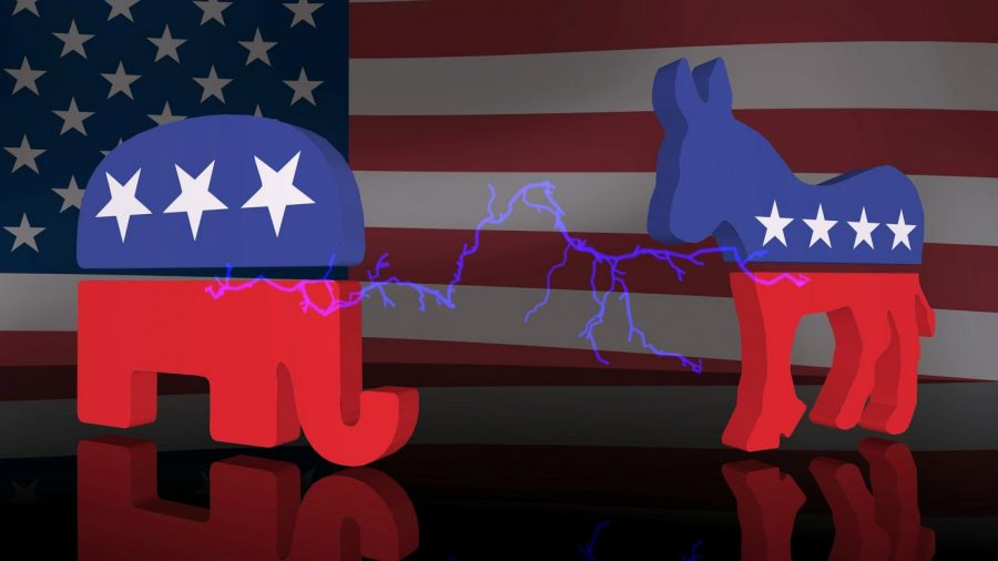 The tension between the Democratic and Republican party rises as the election comes around the corner.