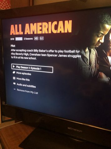 The start of All-American on Netflix inspired by a true story.