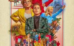 The show's promotional poster, featuring Bette Midler, Judith Light, and Ben Platt in the center.