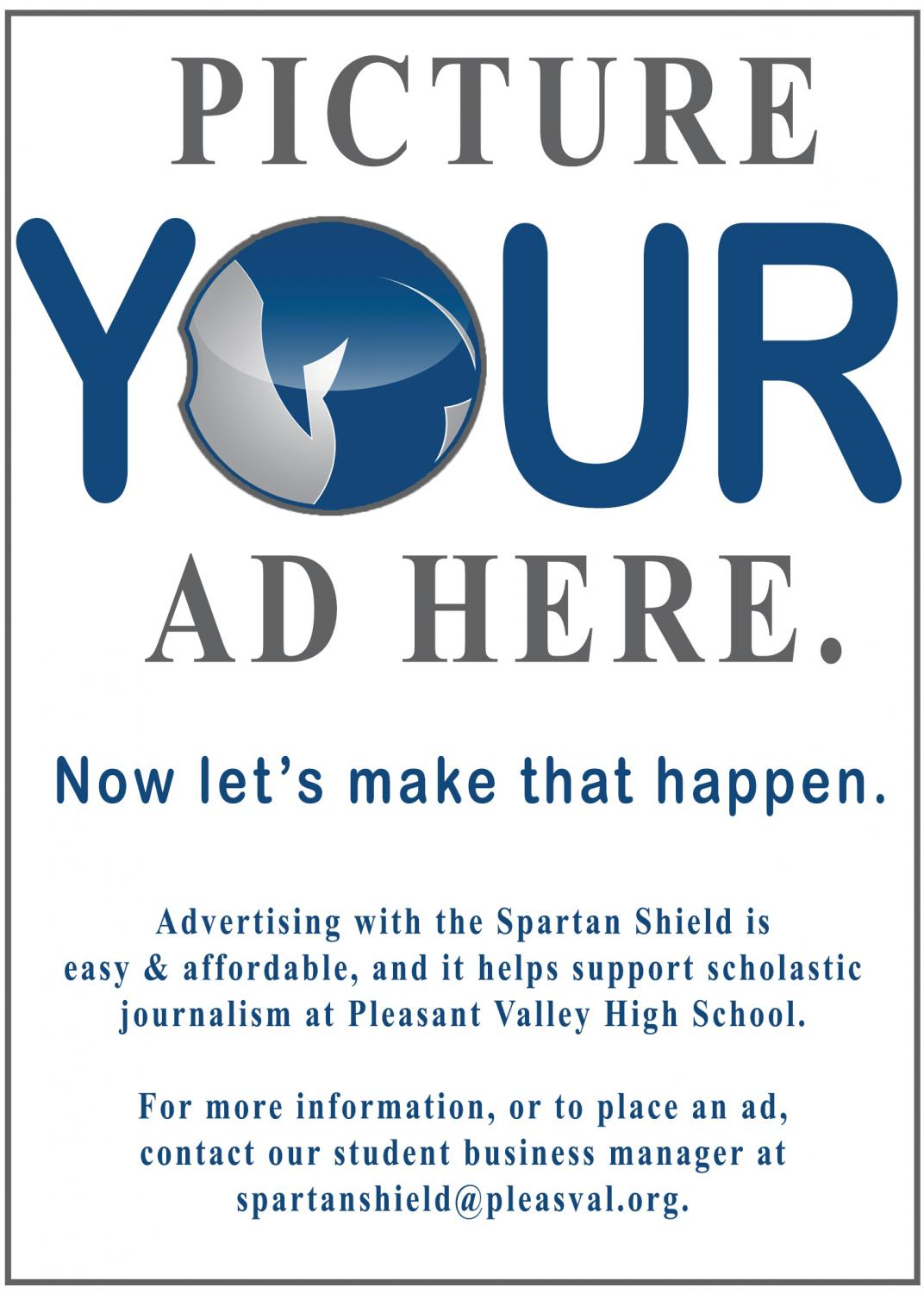 Advertise with the Spartan Shield!