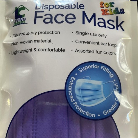 A bag of disposable face masks represent a new upcoming global crisis that isn't being talked about. With the increase of face masks, there's been an increase in littering personal protective equipment.