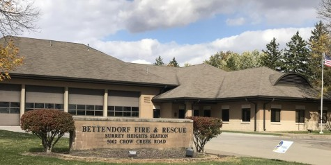The Surrey Heights Bettendorf Fire Station which is currently only staffed by volunteer positions will acquire two career personnel later this month.