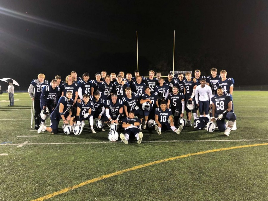 The Pleasant Valley Spartans beat Muscatine 21-7 on Sept. 11. Despite challenges of the pandemic, the Spartans have overcome them to have their best season in seven years.