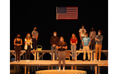 The cast of '26 Pebbles' prepares to honor Sandy Hook Elementary through their performances on Oct. 9, 10