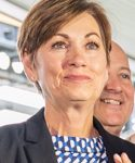 Kim Reynolds held a virtual press conference on Nov. 10 to address the state about the new mandates regarding sports
