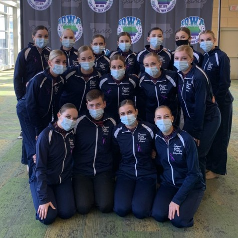 Despite a pandemic and a slow start to their season, the Pleasant Valley Platinum dance team was able to travel to Des Moines on Nov. 19 to compete at the ISDTA state championships.