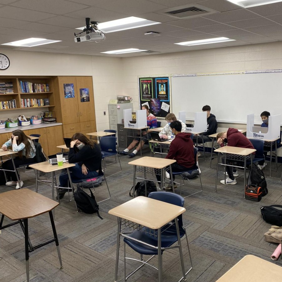 Students from the senior class contemplate whether their high school experience has been the best years of their lives or simply just a highlight.