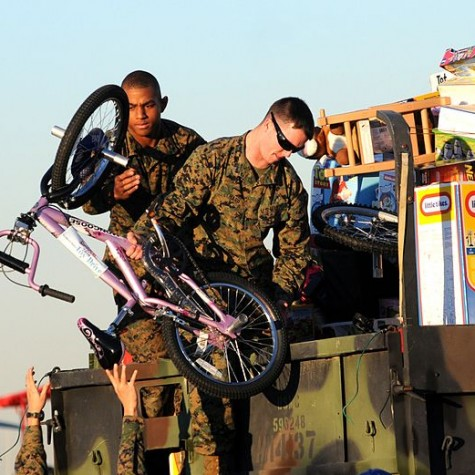 Marine Toys-For-Tots has seen an increase in demand of donations due to the ongoing COVID-19 pandemic.