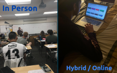 After considering the benefits and drawbacks of each model, the school district has chosen to keep the high school in a hybrid/online model.