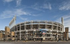 Progressive Field, home of the former Cleveland Indians, was the site of many protests against the baseball teams name. While the name is still on the field, Cleveland is in the process of changing the baseball team's name.
