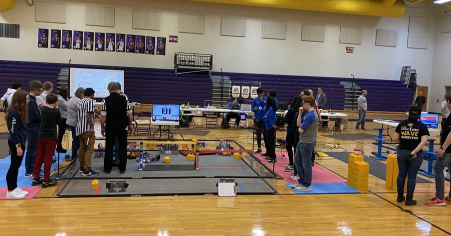 Pleasant Valley provides opportunities for robotics students to go head to head in competitions. Robotics has become a new competitive activity for many students. This advances their STEM skills and guides them into careers of innovation where they could someday replace human jobs with robots.