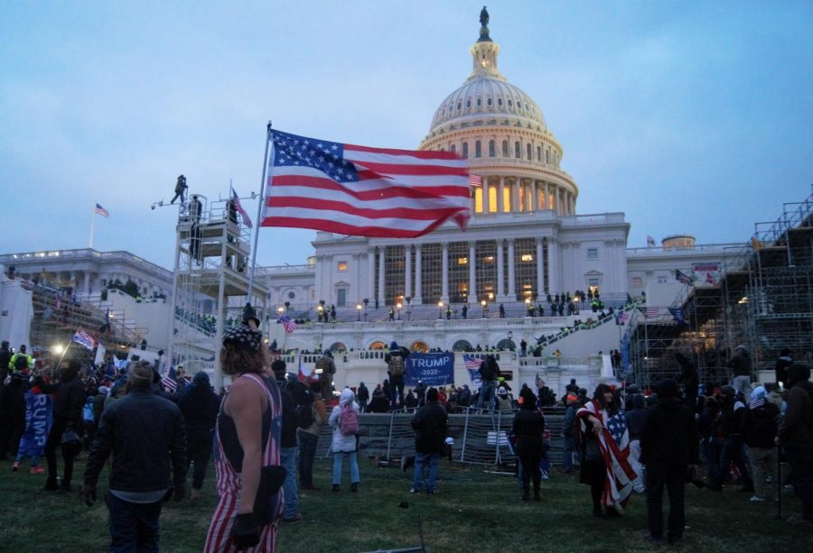 In retaliation of election results, a mob of Trump supporters storms the United States Capitol on Jan. 6.