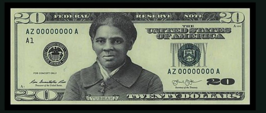 Prototype+of+Harriet+Tubman+on+the+%2420+bill.+The+US+Department+of+the+Treasury+is+currently+planning+a+design+for+the+front+of+the+bill.+Former+Treasury+secretary%2C+Steve+Mnuchin+set+the+release+date+for+2028%2C+but+since+then%2C+President+Biden+has+urged+for+the+design+to+be+released+sooner.
