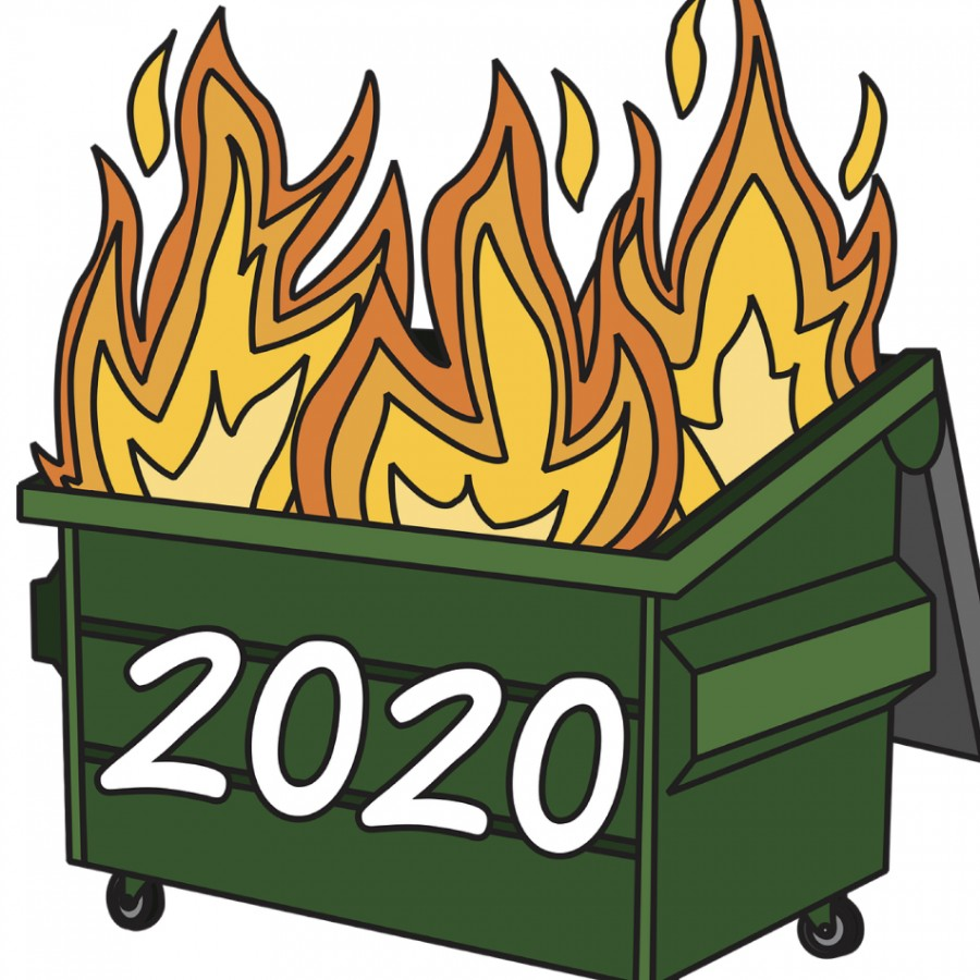 2020 was an absolute dumpster fire.