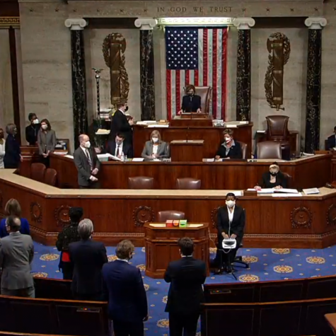 The House of Representatives votes in favor of impeaching former President Donald J. Trump for the second time on Jan. 13, 2021. Questions and concerns over the future of the Republican Party have risen after the division following the impeachment and Trump's actions throughout his presidency.