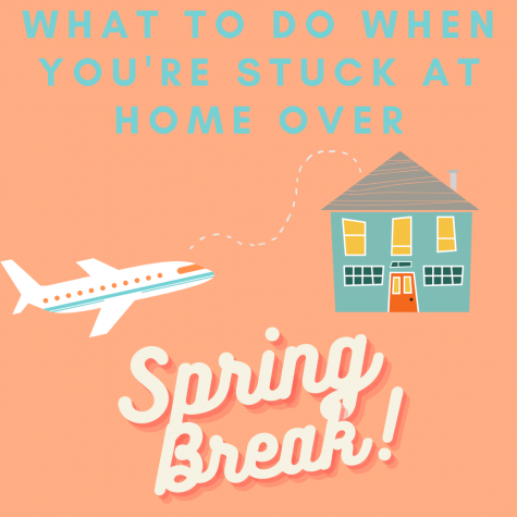 Staying at home for spring break can be boring, here are five ways to make it more fun!