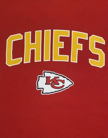 The Kansas City Chiefs logo printed in conjunction with the team name.