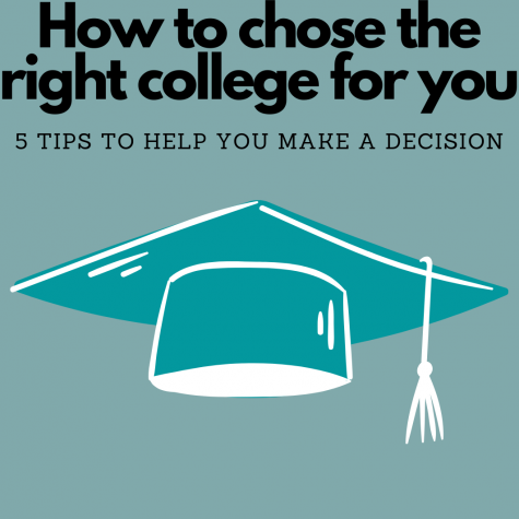 Choosing a college is hard, but these 5 tips will guide you to choose the best school for you!