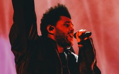The Weeknd headlines the Super Bowl LV halftime show in Tampa Bay, Florida.