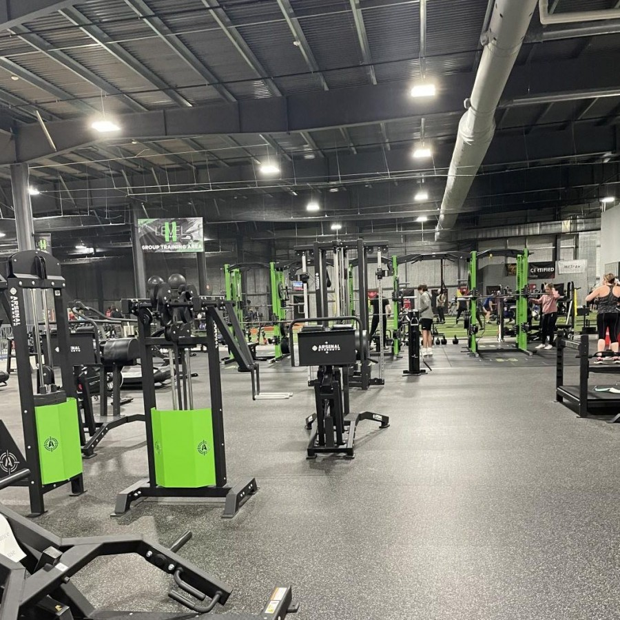 """TBK Sports Complex's """"Level II Fitness"""" which serves as a home for the Athlete Development Project."""