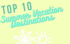 Need some new ideas to travel this summer? Here are ten places to visit for your vacation.