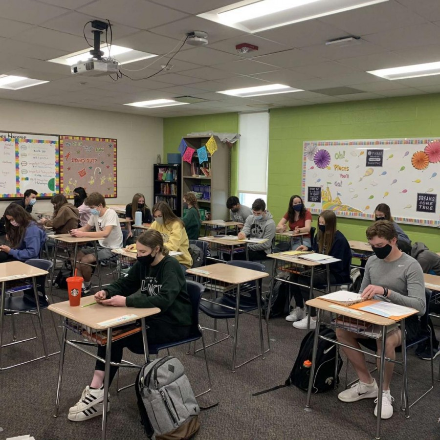 PV students have returned to 100 percent in-person learning after being online and hybrid for most of the pandemic thus far.