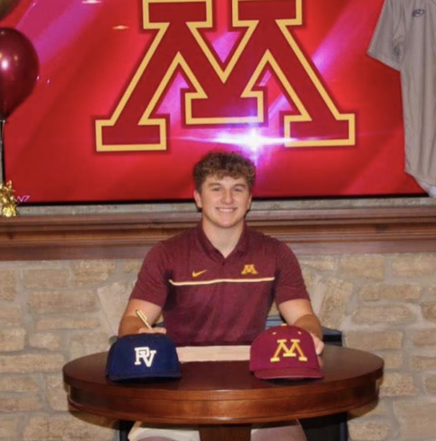 Senior Seth Clausen commits to the University of Minnesota for baseball.