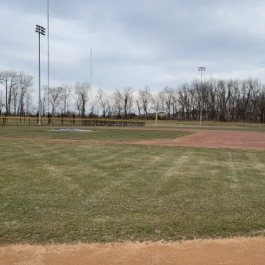 The PV baseball field lies dormant during the springtime while in hotter areas, spring training games commence.
