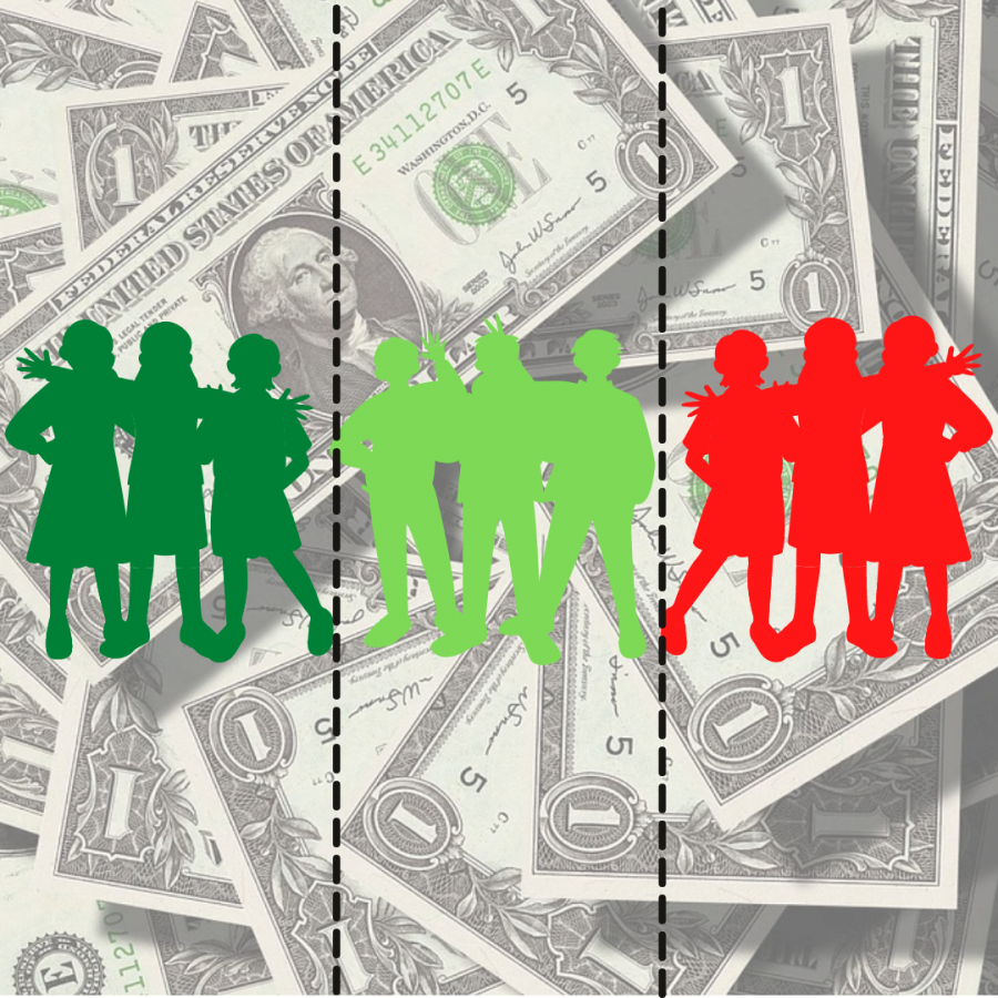 At PV, many students have unfair advantages due to how much money their family has.