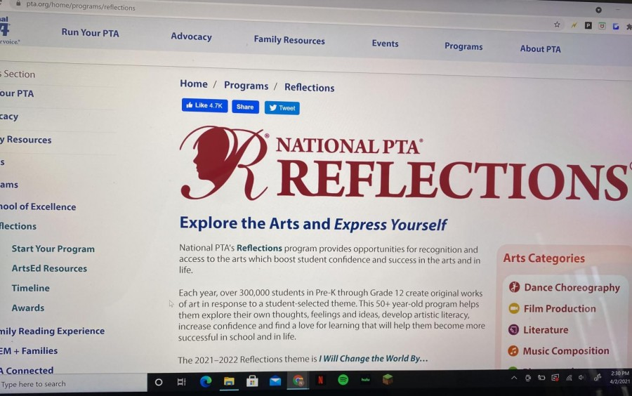 The+PTA+Reflections+website+makes+it+easy+for+students+of+all+ages+to+access+the+program+details.