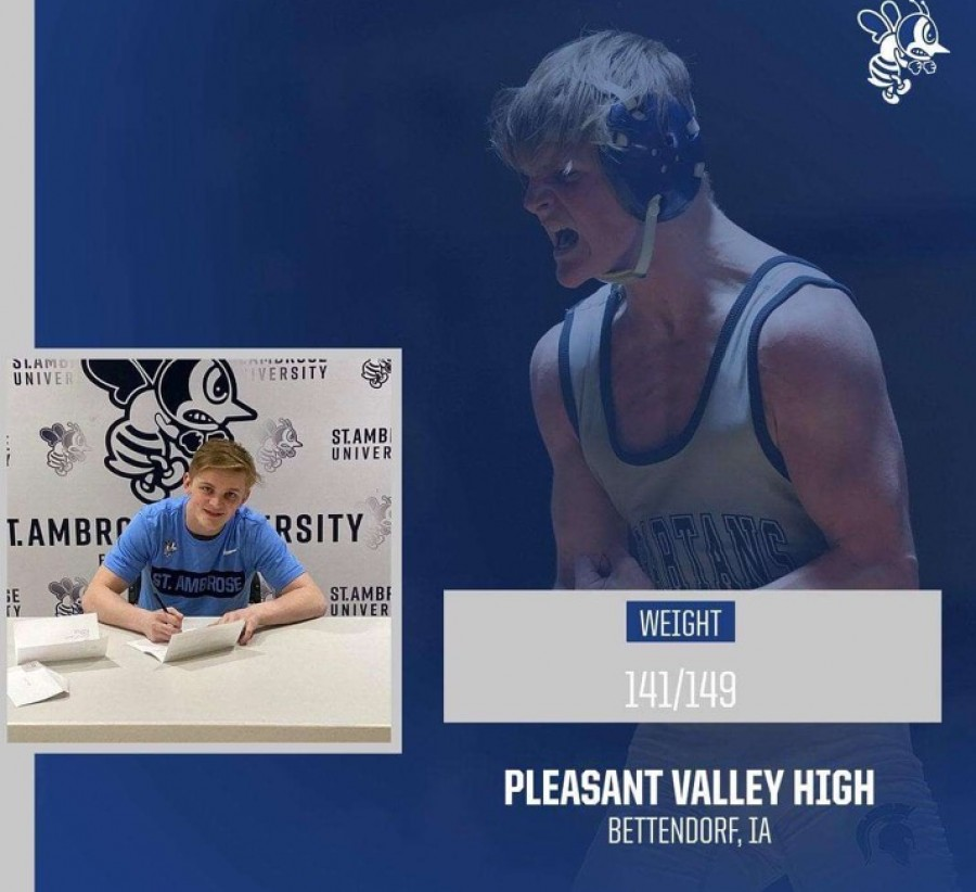 Hunter+Meyrer+signs+with+St.+Ambrose+to+continue+his+wrestling+career.