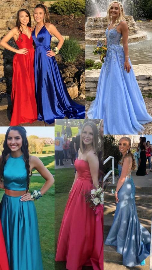 Most popular prom dresses