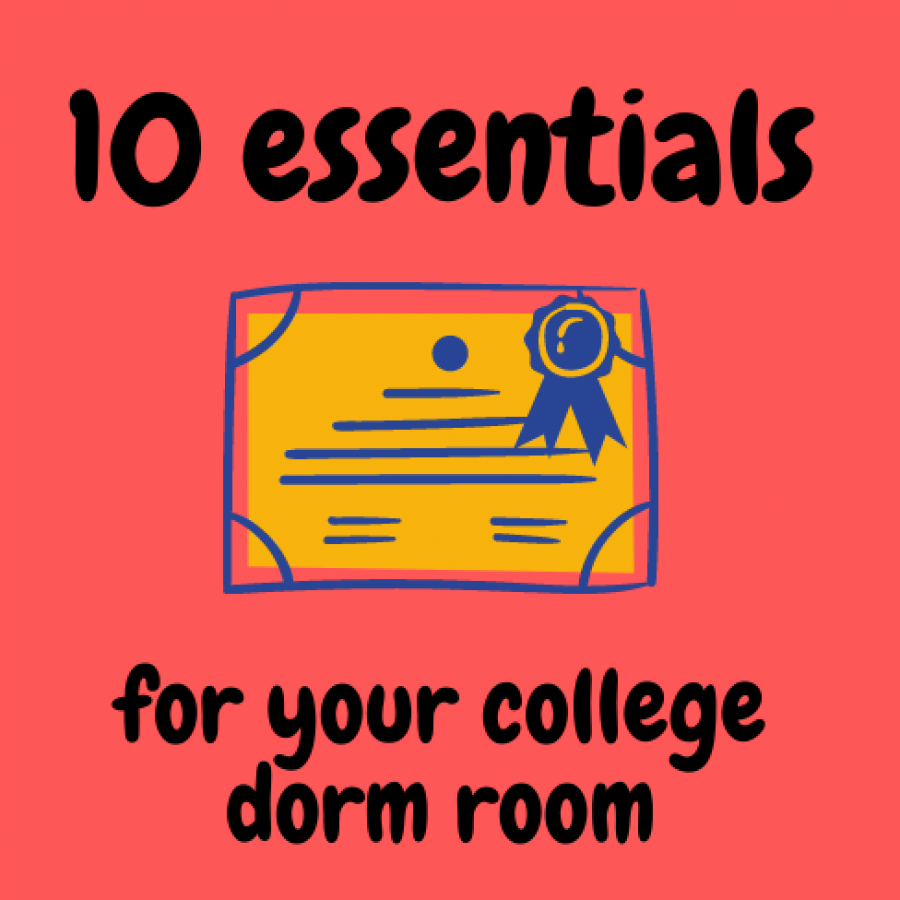 Packing for college can be stressful, but here is a list of 10 items that you should put at the top of your packing list.