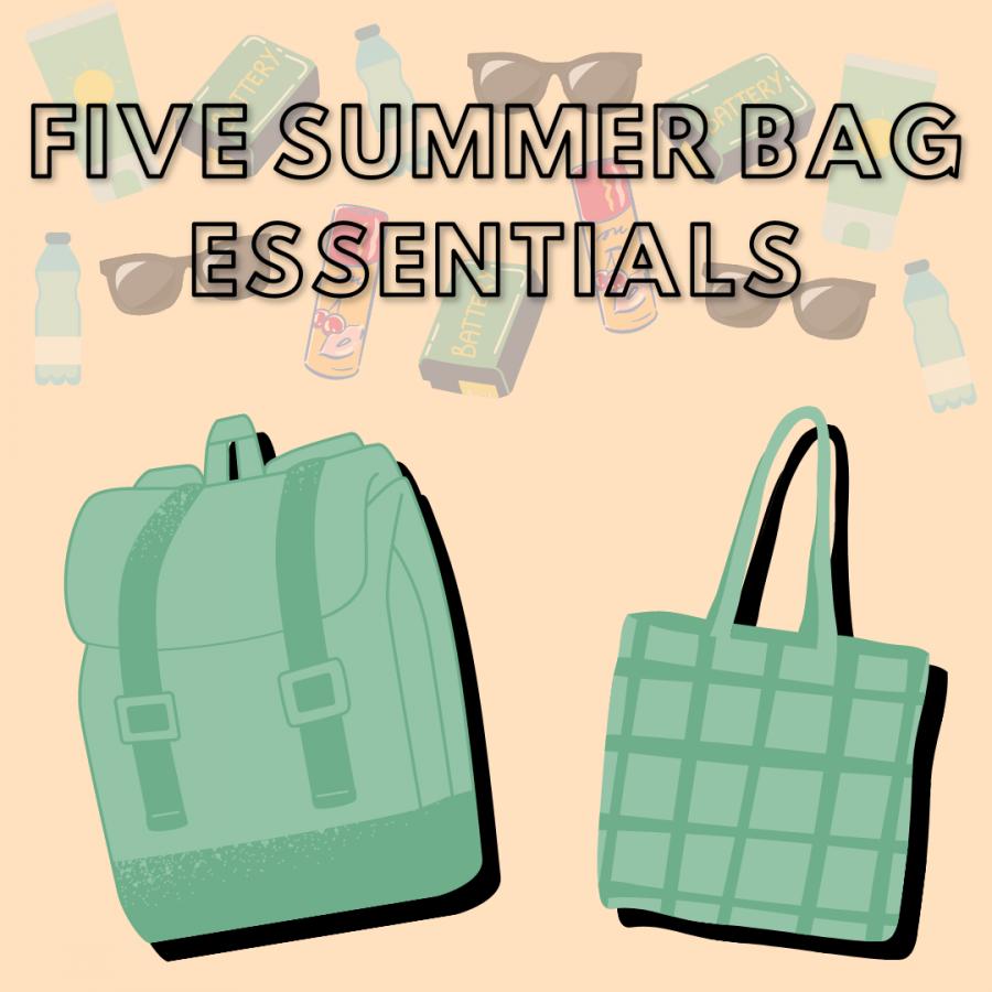 Five+summer+bag+essentials