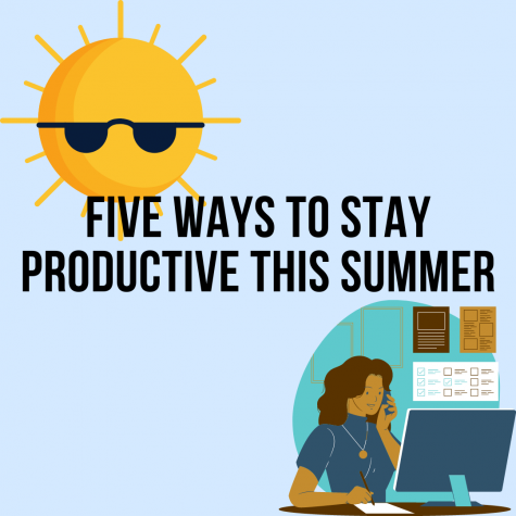 5 ways to stay productive this summer