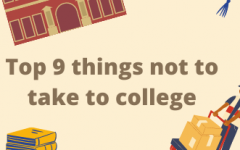Everyone knows the college necessities but let this list save you from nine things you shouldnt take with you.