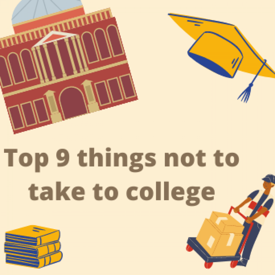 Everyone knows the college necessities but let this list save you from nine things you shouldn't take with you.