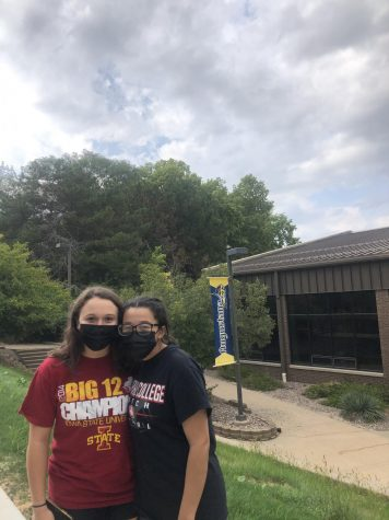 PV seniors Campbell Wolfe and Mattie Moats visit Augustana College.
