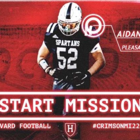 Aidan Kilstrom annonces his commitment through a neat graphic.